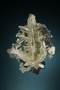 Cerussite - Tsumeb Mine, Tsumeb, Otjikoto Region, Namibia Size: 11.5 cm