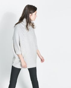 ZARA // PULL EN MAILLE EXTRA-LARGE