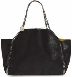 b4222f5a7f4 Main Image - Stella McCartney Reversible Oleo Deer Faux Leather Tote Falabella  Bag, English Fashion