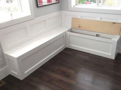 Kitchen Bench Seating With Storage Corner Cabinets Awesome I Bet The Husband Could Build Plans Eiche Ess Bank Esstisch Mit Und Stuhlen Theke Hohe Sitzbank Kuche Kuchen