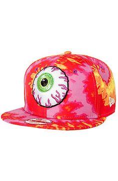 The Keep Watch New Era Snapback Hat in Sunset Tie Dye by Mishka