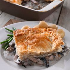 James Martin's chicken and mushroom pie | Comfort food recipes | Red Online
