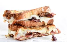 Brown Sugar Pecans, Sweet Bacon and Havarti Grilled Cheese