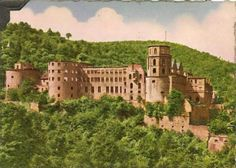Ramstein-Miesenbach, Germany: The Heidelberg Castle.     We lived in Miesenbach in 1970 then moved to Ramstein in 1971-72