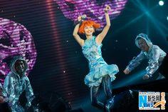 Singer Stephanie Sun performs her 'Kepler World Tour' in Chongqing June 21, 2014