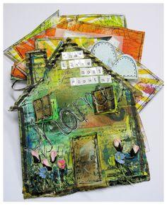 Artfull Scrapbooking: Altered Art- Mini Book House