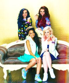 little mix :) omg they are all so beautiful and Jesy is NOT fat. Whoever says that is a messed up person. They are all amazing and wonderful in their own special ways. Luv ya little mix!!! <3