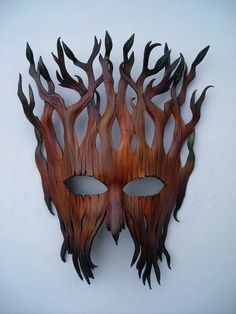 Wooden Mask carried by Raika the Elf