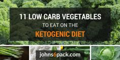 Low Carb Vegetables for the Keto Diet