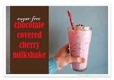 SF Chocolate Covered Cherry Shake {Trim Healthy Tuesday}