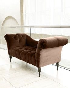"I would like this please.     H5SJC Chocolate ""Pandora"" Settee"