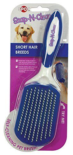Ethical Pets Snap N Clean Short Hair Dog Brush Large by Ethical Pets ** Want to know more, click on the image.