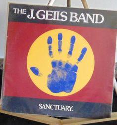 The J. Geils Band Lp Sanctuary Near Mint #ClassicRockPopRockRock