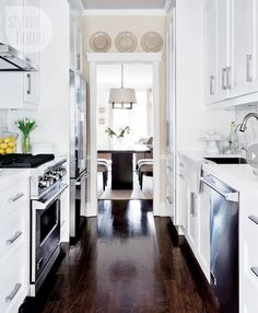 Great galley kitchen
