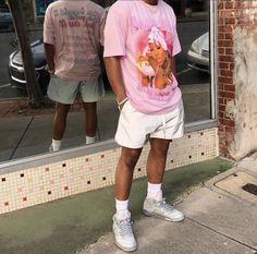 Dope Outfits For Guys, Summer Outfits Men, Stylish Mens Outfits, Vintage Summer Outfits, Style Outfits, Mode Outfits, Tomboy Outfits, Urban Outfits, Teaching Mens Fashion