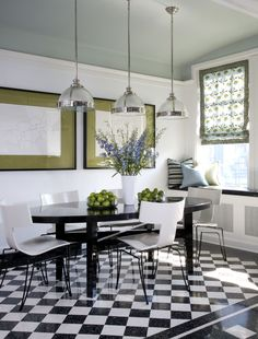 Vintage Residence - contemporary - dining room - chicago - Jessica Lagrange Interiors LLC