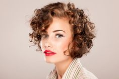 Short Haircuts For naturally Curly Hair and round face