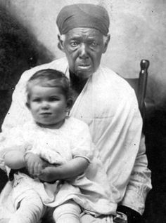 Unidentified Enslaved Black Woman with White Child -- The Home Front: Life in Texas During the Civil War