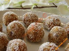 Carrot Biscuits Balls Recipe (Turkish Cuisine) Resimli Tarifi - Yemek Tarifleri