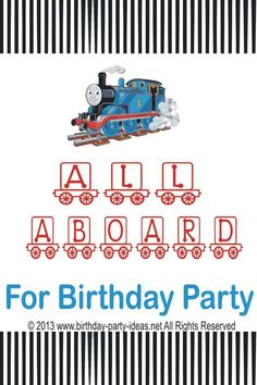 Thomas the train birthday party #ThomastheTrain #party #birthday #decoration #cakes #favors #themedbirthday #games #printable #quotes #invitation #sayings #birthdaypartyideas #bpartyideas