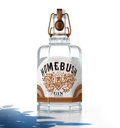Homebush Gin (Concept) on Packaging of the World - Creative Package Design Gallery