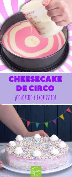 Questa cheesecake ha un segreto scoppiettante! Sweet Recipes, Cake Recipes, Traditional Cakes, Chocolate Pies, Baking Tips, Cake Cookies, Cupcakes, Cheesecakes, Vanilla Cake