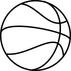 Free Coloring Pages Free basketball Basketball crafts Basketball birthday