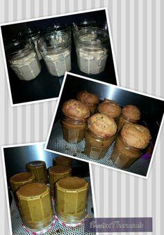 Cake aux fruits confits, en bocal