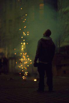 Falling Stars. Berlin, 2012. By Jürgen Bürgin