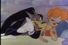 little red hot ridding hood and the wolf Tex avery Old Cartoons, Classic Cartoons, Disney Cartoons, Tex Avery, Guys And Dolls, Big Bad Wolf, Cartoon Characters, Fictional Characters, Vintage Cartoon