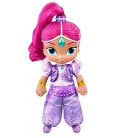 This soft Shimmer doll is sure to bring magic to every little genie