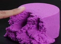DIY Recette du sable magique fait maison
