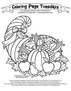 Hedgie Cooks For Thanksgiving Yay A Decent And Interesting Thanksgiving Themed Coloring Page