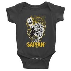 Super Saiyan Goku Dragon Fist Infant short sleeve one-piece Shirt - PF00035BO