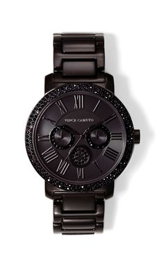 new style fbf0d 4b7e0 CRYSTAL EMBELLISHED WATCH-Mixed metals and shimmering crystals combine on  this modern. stainless steel watch from Vince Camuto. This polished  timepiece has ...