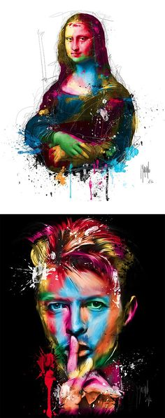 New Pop Paintings by Patrice Murciano