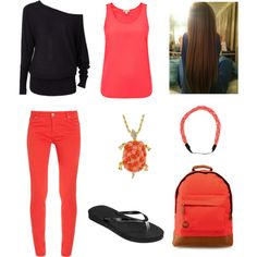 """Last Day of School"" by nachognat on Polyvore"