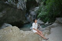Nidri waterfall, Lefkada, Greece