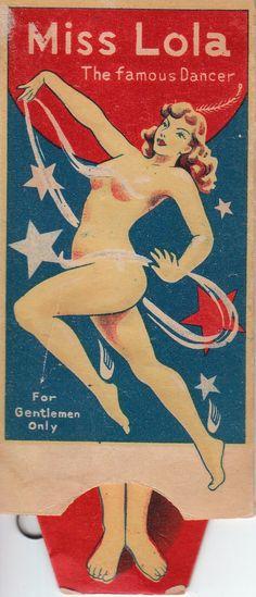 Vintage Sleaze: Vintage Sleaze FAMOUS Dancer LOLA! (Made in Japan)