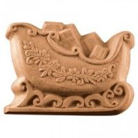 Sleigh Soap Mould