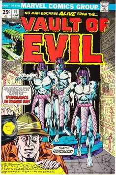 Vault of Evil 19 Marvel Comics Zombie Mummy Monsters Universal Tales of Horror Fear Terror Scary Creepy Nightmare 1974 VF+ by LifeofComics #comicbook #halloween