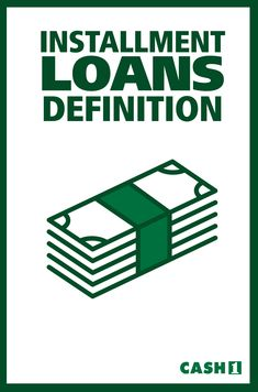 Installment loan definition: Any loan that is repaid over time with a set number of regularly scheduled payments. Car loans and mortgages are installment loans. Installment Loans, Car Loans, Definitions, Numbers, How To Apply, How To Plan, Numeracy