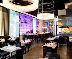 LEMAYMICHAUD   Il Matto   Architecture   Design   Hospitality   Eatery   Restaurant   Dining Room   Custom Lighting   Bar   Open Kitchen  
