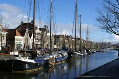Harlingen, Friesland, The Netherlands Such a story book place.