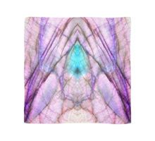 Purple Labradorite 'When counting blessings, angels attend' Scarf by lightningseeds® for crystalapertures.rocks.