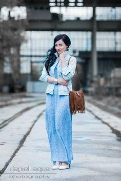 Dresscode of the day : Tagträume, Larimar und ein blaues Kleid #fashion #fashionblogger #juliesdresscode