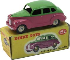 dinky toys No. 152 Austin Devon Saloon; I've got one, no box & well play worn; Not for sale!