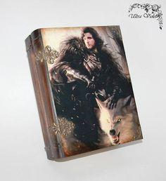 Buch-Box Buchschatulle Schatulle Game of Thrones Stark