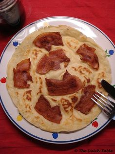The Dutch Table: Spekpannenkoek (Dutch Bacon Pancakes)