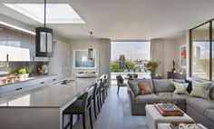 Helen Green Design - Penthouse North, Knightsbridge ©